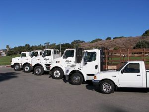 Smart Recycling Company Trucks