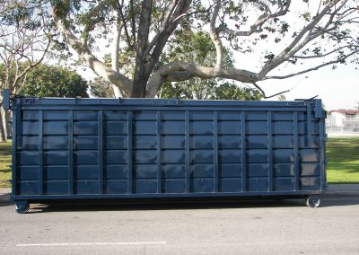 scrap metal collection container
