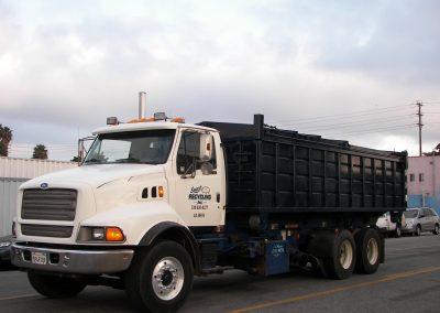Scrap metal pick up vehicle for Smart Reclycling Inc