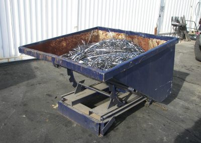 Scrap Metal Tilt Hopper